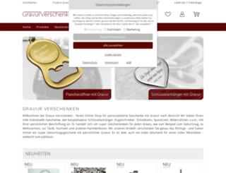 gravur-verschenken.de screenshot