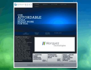grayboxxdesign.webs.com screenshot