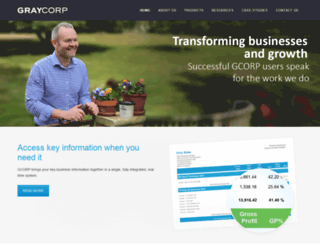 graycorp.com.au screenshot