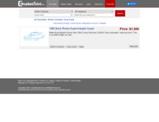 graycreek.canadianlisted.com screenshot