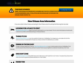 graylineneworleans.compucastweb.com screenshot
