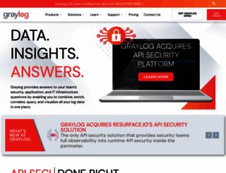 graylog2.org screenshot