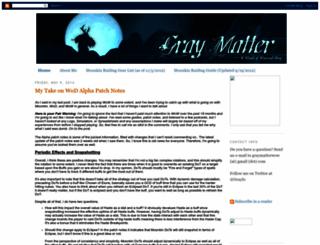 graymatterwow.blogspot.com screenshot