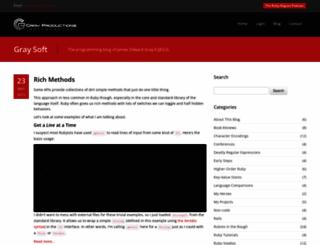 grayproductions.net screenshot
