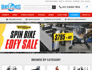 graysfitness.com.au screenshot