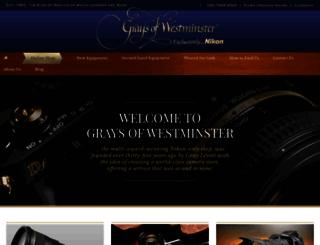 graysofwestminster.co.uk screenshot