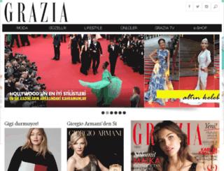 grazia.com.tr screenshot