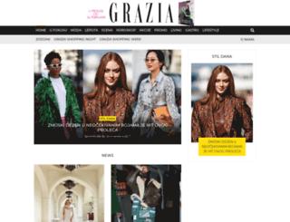 grazia.rs screenshot