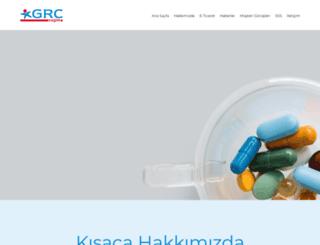 grcsaglik.com screenshot