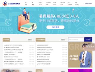 gre.xiaoma.com screenshot
