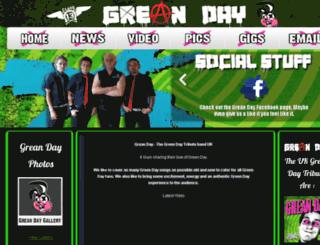 greanday.co.uk screenshot