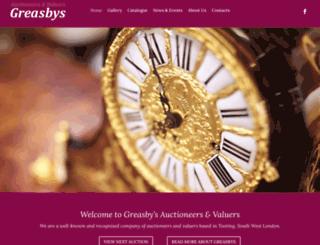 greasbys.co.uk screenshot