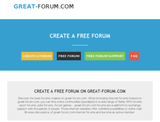 great-forum.com screenshot