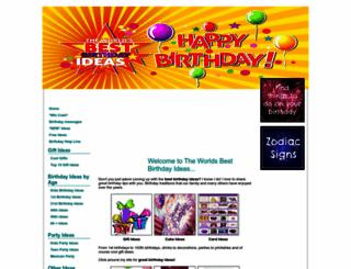 great-happy-birthday-ideas.com screenshot