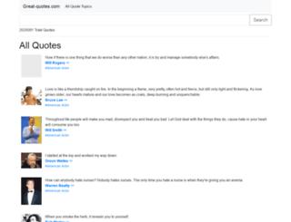 great-quotes.com screenshot