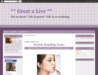 great2live.blogspot.com screenshot