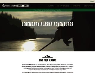 greatalaska.com screenshot