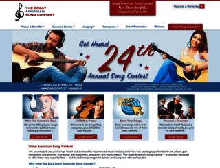 greatamericansong.com screenshot