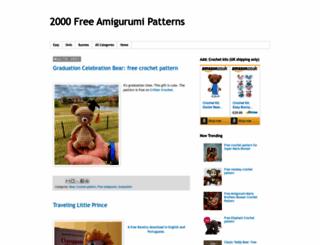 greatamigurumi.blogspot.co.uk screenshot
