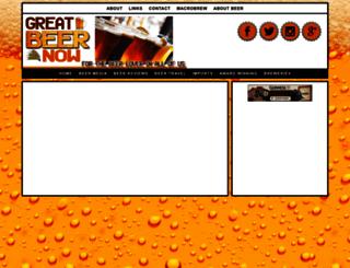 greatbeernow.com screenshot