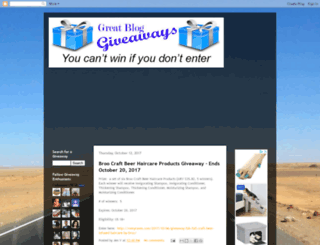 greatbloggiveaways.blogspot.com screenshot