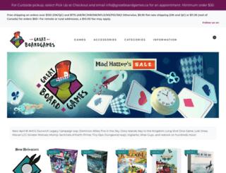 greatboardgames.ca screenshot