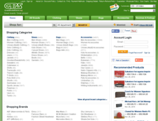 greatbrandstore.org screenshot