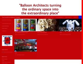 greatbritishballoon.co.uk screenshot