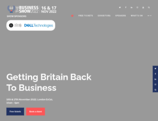 greatbritishbusinessshow.co.uk screenshot