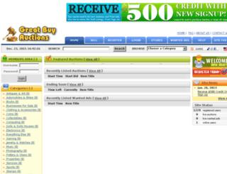 greatbuyauctions.com screenshot