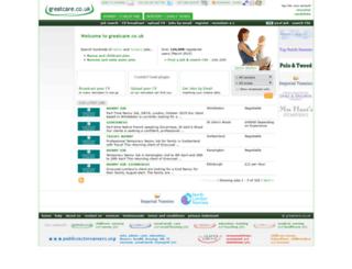 greatcare.co.uk screenshot