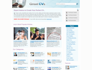 greatcvs.co.uk screenshot