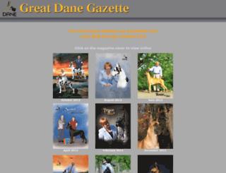 greatdanegazette.com screenshot