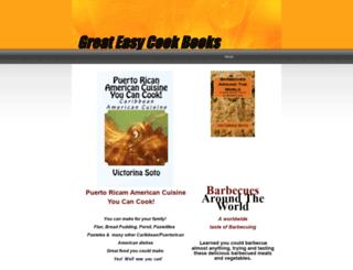 greateatscookbooks.yolasite.com screenshot
