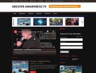 greaterawareness.tv screenshot