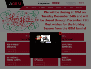greaterbostonmotorsports.com screenshot