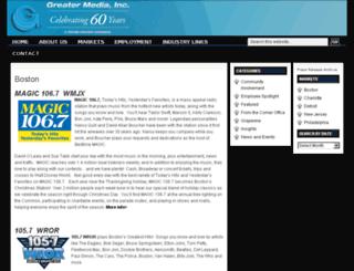 greaterbostonradio.com screenshot