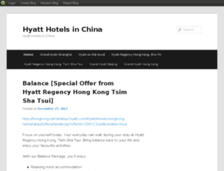 greaterchinateamhyatt.blog.com screenshot
