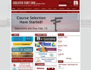 greaterforterie.dsbn.org screenshot