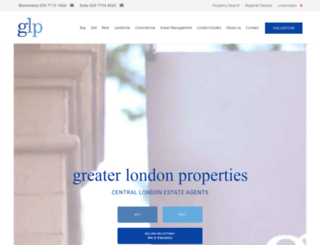 greaterlondonproperties.co.uk screenshot