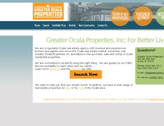 greaterocalaproperties.com screenshot