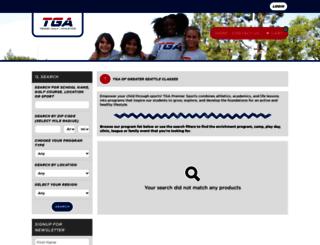 greaterseattle.playtga.com screenshot