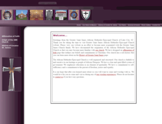 greaterstjames.org screenshot