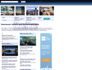 greatervancouverhotels.com screenshot