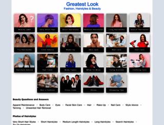 greatestlook.com screenshot
