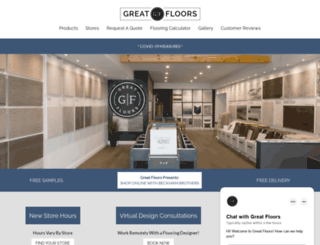 greatfloors.ca screenshot