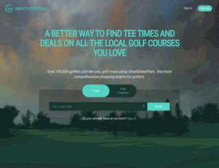 greatgreenfees.com screenshot