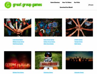 greatgroupgames.com screenshot