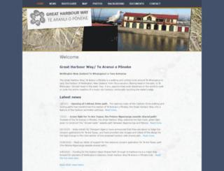greatharbourway.org.nz screenshot