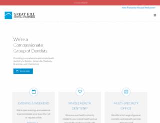greathilldental.com screenshot